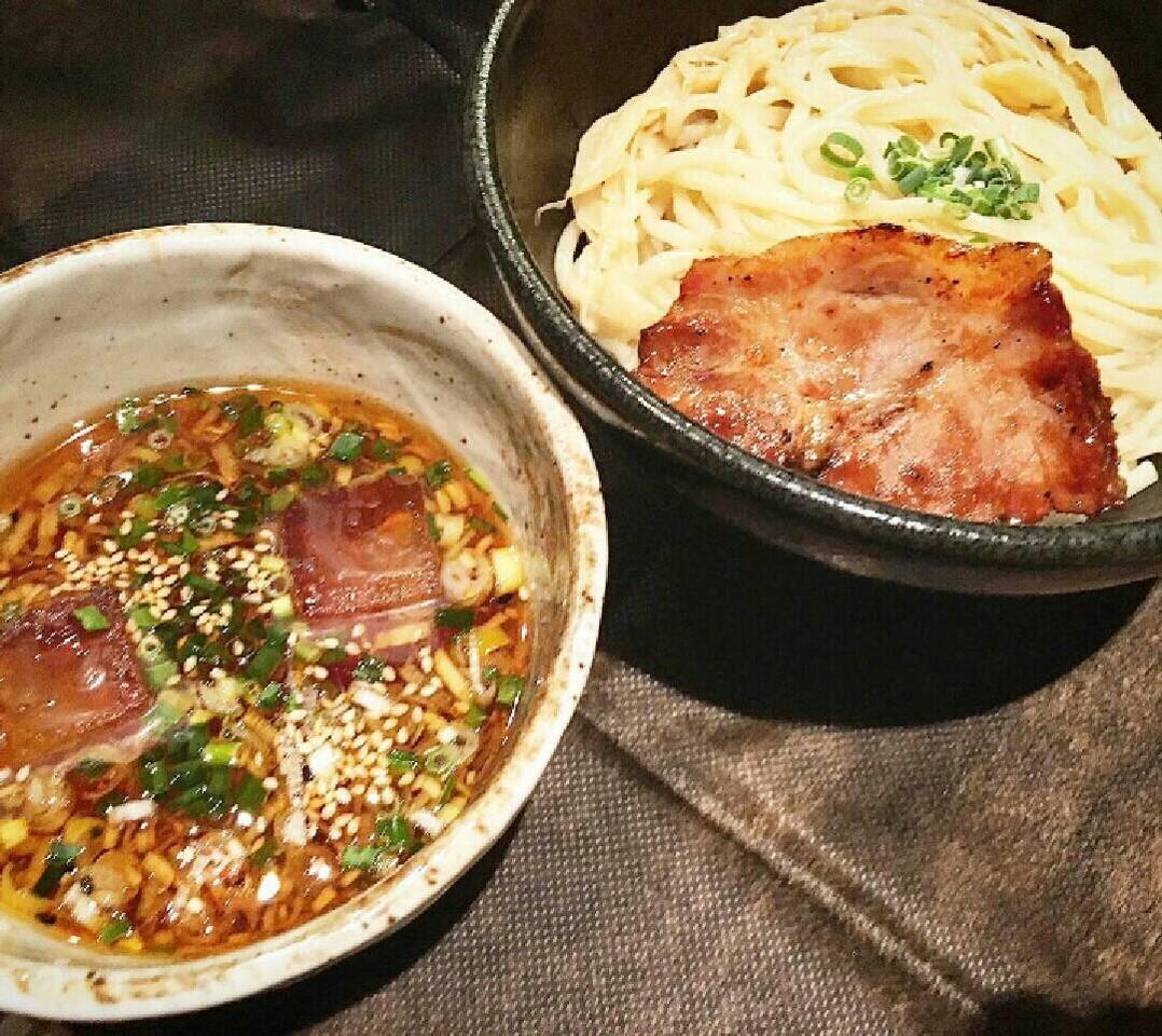 麺屋宗 高田馬場本店 限定メニュー 冷やしつけ麺(旨辛)